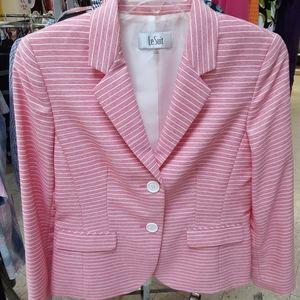 Pink ladies suit coat